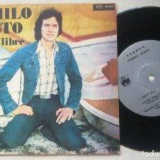 Discos de vinilo: CAMILO SESTO - JAMAS / AMOR LIBRE - MUY RARO SINGLE BOLIVIANO 33RPM 1975 - ARIOLA. Lote 163748002