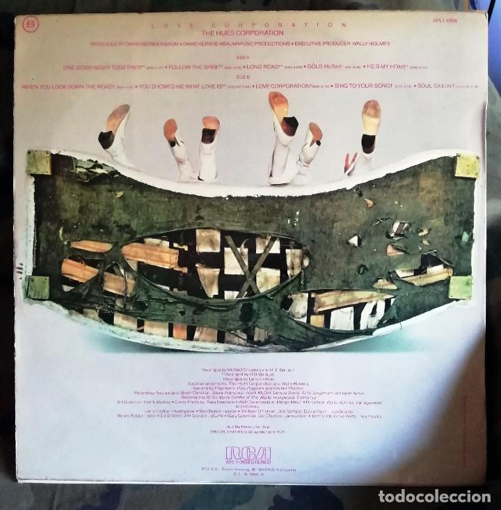 Discos de vinilo: The Hues Corporation – Love Corporation LP, Spain 1975 incl encarte - Foto 2 - 172057197