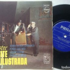 Discos de vinilo: NOITE ILUSTRADA - TOALHA DE MESA - EP BRASILEÑO - RCA. Lote 163759550