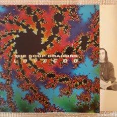 Discos de vinilo: THE SOUP DRAGONS - LOVEGOD. Lote 163768752