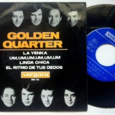 Discos de vinilo: GOLDEN QUARTER - EL RITMO DE TUS DEDOS - EP 1965 - VERGARA. Lote 163768962