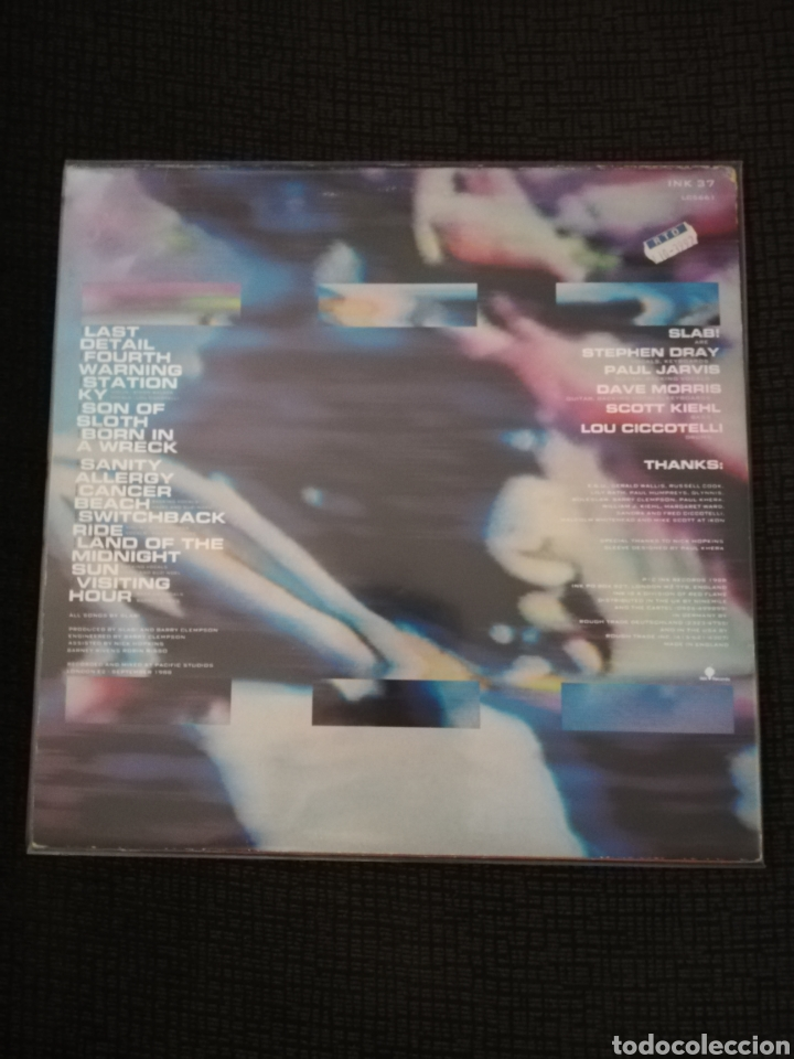 Discos de vinilo: Disco Vinilo Original Slab Sanity Allergy - Foto 2 - 163777440