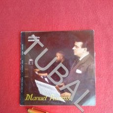 Discos de vinilo: TUBAL MANUEL AUSENSI EP VINILO EL CANT DELS OCELLS, A L'INFANT JESUS, DORM INFANTÓ. Lote 163786274