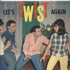 Discos de vinilo: RICHARD ANTHONY / LET'S TWIST AGAIN // EDITADO COLUMBIA 1962 / SU PRIMER LP 33 RPM. Lote 163791990