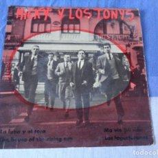 Discos de vinilo: MICKY Y LOS TONYS – LA LUNA Y EL TORO / THE HOUSE OF THE RISING SUN. ZAFIRO 1964. Lote 163823058