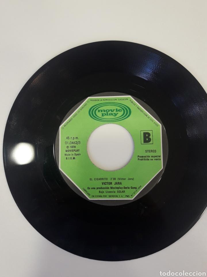 Discos de vinilo: Victor Jara - single vinilo PROMO Paloma Quiero Contarte - Foto 5 - 163828777