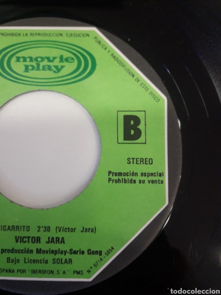 Discos de vinilo: Victor Jara - single vinilo PROMO Paloma Quiero Contarte - Foto 7 - 163828777