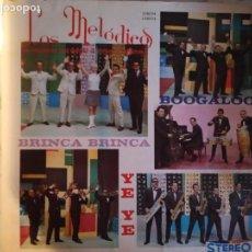Discos de vinilo: LOS MELÓDICOS BRINCA BRINCA YE YE BOOGALOO POMPO LATIN SOUL GUAGUANCO LP ORIGINAL VENEZUELA 1966 VG. Lote 161895886