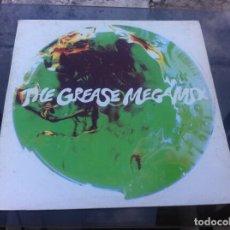 Discos de vinilo: MAXI SINGLE. THE GREASE MEGAMIX. 1991, ESPAÑA. Lote 163836286