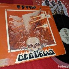 Discos de vinilo: ZZ TOP DEGUELLO LP 1979 WB EDICION ESPAÑOLA SPAIN. Lote 163837558
