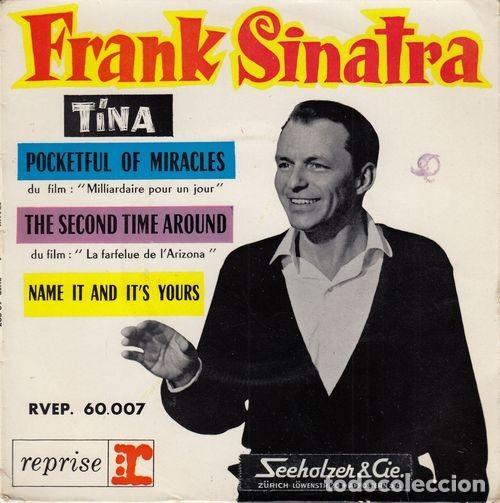 FRANK SINATRA - TINA - EP FRANCES DE VINILO (Música - Discos de Vinilo - EPs - Pop - Rock Extranjero de los 50 y 60)