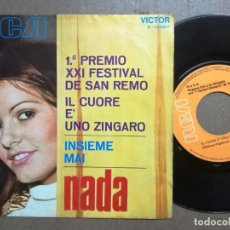 Discos de vinilo: NADA.INSIEME MAI.IL. Lote 163841942