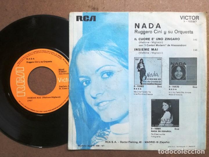 Discos de vinilo: NADA.INSIEME MAI.IL - Foto 2 - 163841942