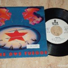 Discos de vinilo: SPARTO - ENTRE DOS FUEGOS (SINGLE PROMOCIONAL URANTIA 1992 SPAIN) HEAVY . Lote 163857926