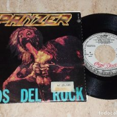 Discos de vinilo: PANZER SG CHAPA 1985 PROMOCIONAL / DIOS DEL ROCK/ ARRIBA / ROCK HEAVY METAL. Lote 163860914