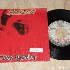 Discos de vinilo: PANZER SG CHAPA 1984 PROMOCIONAL / TOCA MADERA/ REINA CALLEJERA / ROCK HEAVY METAL. Lote 163861690