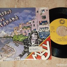 Discos de vinilo: MAY - EL MONSTRUO DE TACANANA / EL VUELO DEL AGUILA / HARD ROCK PROGRESIVO -1985-PROMOCIONAL. Lote 163863246