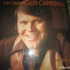 Discos de vinilo: GLENN CAMPBELL - THE GREAT GLENN CAMPBELL BOX SET 7 LP´S - ORIGINAL INGLES - EMI 1969 - CERTIFICADO . Lote 163865230