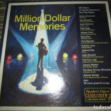 Discos de vinilo: MILLION DOLLARS MEMORIES BOX SET 9 LP´S VARIOS INTERPRETES ORIGINAL INGLES - CBS 1979 - MUY NUEVO (5. Lote 238661060