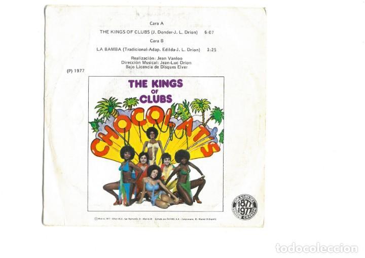 Discos de vinilo: Chocolat's – The Kings Of Clubs single vinilo 1977 Funk Soul Disco - Foto 3 - 163879510