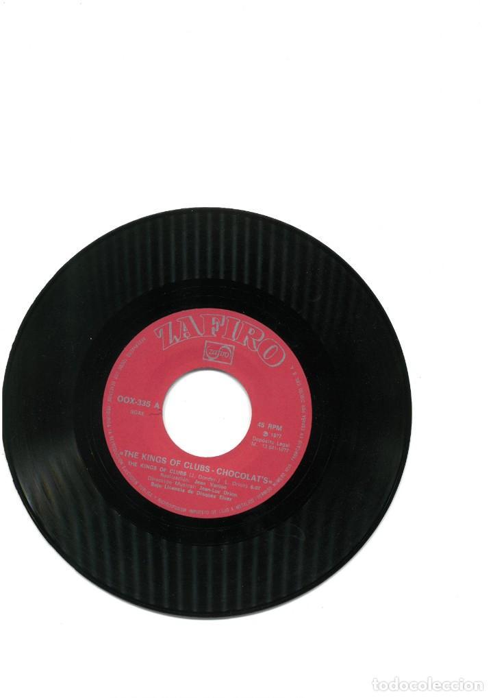 Discos de vinilo: Chocolat's – The Kings Of Clubs single vinilo 1977 Funk Soul Disco - Foto 4 - 163879510