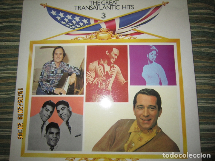 Discos de vinilo: THE GREAT TRANSATLANTIC HITS BOX SET 6 LP´S VARIOS INTERPRETES ORIGINAL INGLES - EMI / RCA 1976 - - Foto 10 - 163880134