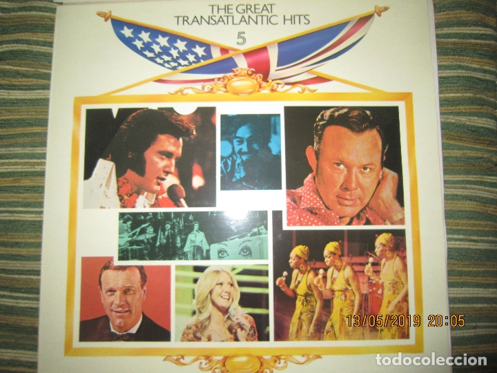 Discos de vinilo: THE GREAT TRANSATLANTIC HITS BOX SET 6 LP´S VARIOS INTERPRETES ORIGINAL INGLES - EMI / RCA 1976 - - Foto 12 - 163880134