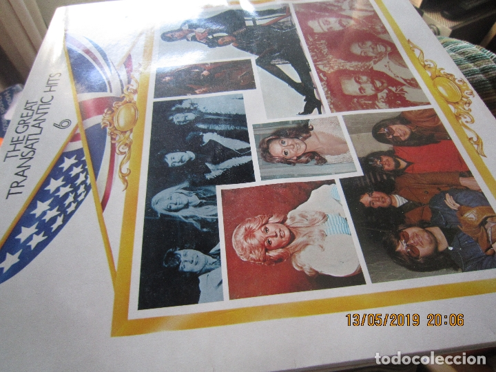 Discos de vinilo: THE GREAT TRANSATLANTIC HITS BOX SET 6 LP´S VARIOS INTERPRETES ORIGINAL INGLES - EMI / RCA 1976 - - Foto 13 - 163880134