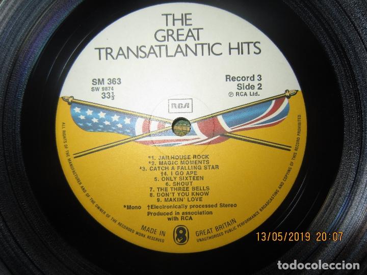 Discos de vinilo: THE GREAT TRANSATLANTIC HITS BOX SET 6 LP´S VARIOS INTERPRETES ORIGINAL INGLES - EMI / RCA 1976 - - Foto 16 - 163880134