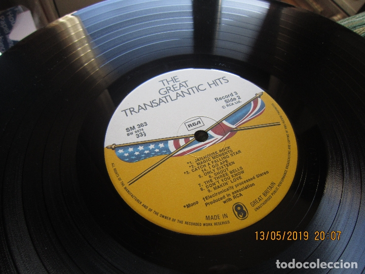 Discos de vinilo: THE GREAT TRANSATLANTIC HITS BOX SET 6 LP´S VARIOS INTERPRETES ORIGINAL INGLES - EMI / RCA 1976 - - Foto 17 - 163880134