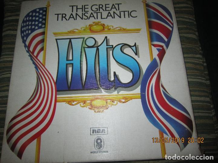 Discos de vinilo: THE GREAT TRANSATLANTIC HITS BOX SET 6 LP´S VARIOS INTERPRETES ORIGINAL INGLES - EMI / RCA 1976 - - Foto 18 - 163880134