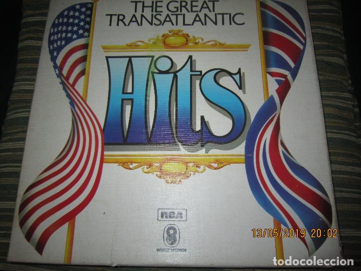 THE GREAT TRANSATLANTIC HITS BOX SET 6 LP´S VARIOS INTERPRETES ORIGINAL INGLES - EMI / RCA 1976 - (Música - Discos - LP Vinilo - Pop - Rock - Extranjero de los 70)