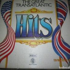 Discos de vinilo: THE GREAT TRANSATLANTIC HITS BOX SET 6 LP´S VARIOS INTERPRETES ORIGINAL INGLES - EMI / RCA 1976 -. Lote 163880134