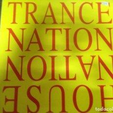 Discos de vinilo: MAXI SINGLE DISCO VINILO TRANCE NATION HOUSE NATION. Lote 163948458