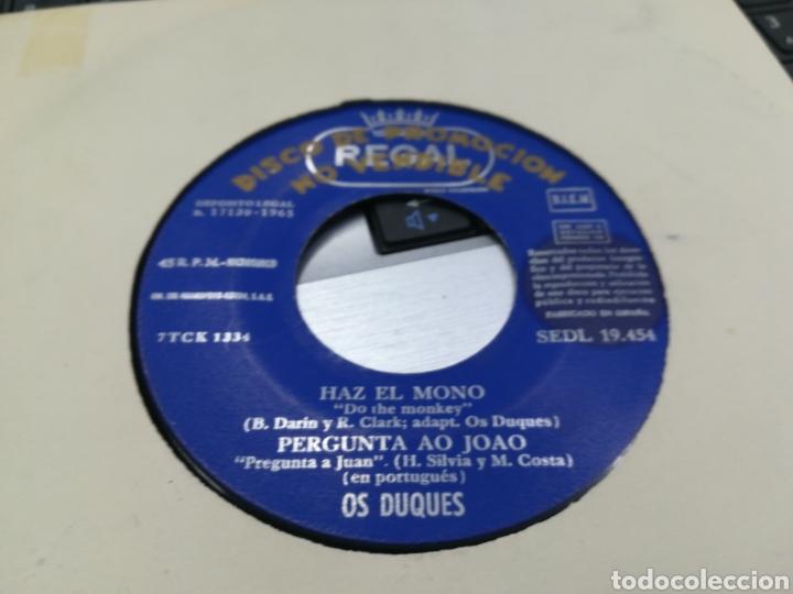 OS DUQUES EP PROMOCIONAL HAZ EL MONO + 3 1965 (Música - Discos de Vinilo - EPs - Pop - Rock Extranjero de los 50 y 60)