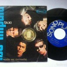 Discos de vinilo: LOS IMPALA - TAXI / TODO ES EXTRAÑO - SINGLE 1967 - SONOPLAY. Lote 163960138