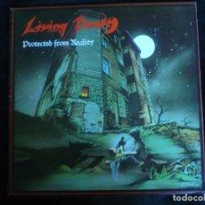 Discos de vinilo: LIVING DEATH PROTECTED FROM REALITY - DE 1987 - COMO NUEVO. Lote 163961978