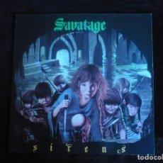 Discos de vinilo: SAVATAGE SIRENS - COMO NUEVO. Lote 163963014