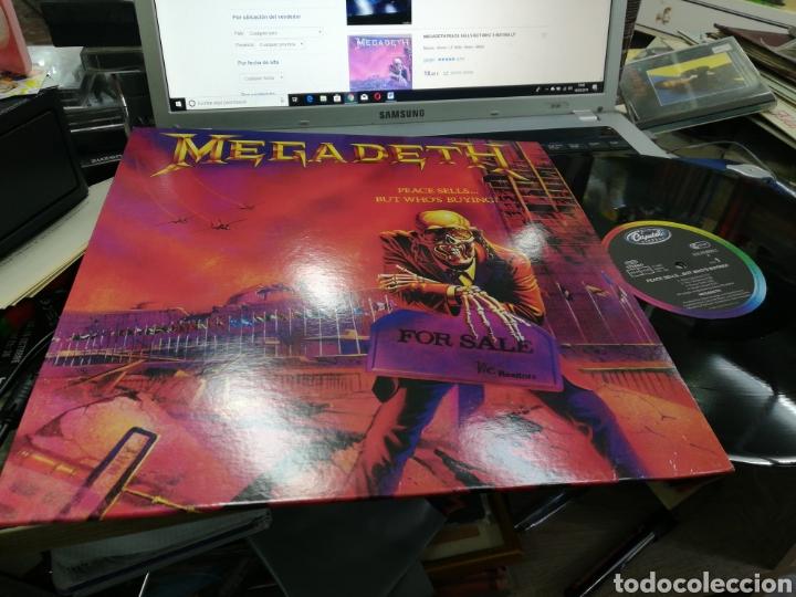 MEGADETH LP PEACE SELLS... BUT WHO'S BUYING? NO OFICIAL /2 (Música - Discos - LP Vinilo - Heavy - Metal)
