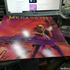 Discos de vinilo: MEGADETH LP PEACE SELLS... BUT WHO'S BUYING? NO OFICIAL. Lote 163970349