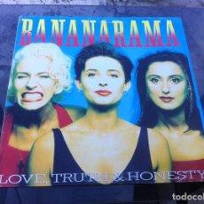 Vinyl-Schallplatten - MAXI SINGLE. BANANARAMA. LOVE, TRUTH & HONESTY. 1988, SPAIN - 163972058