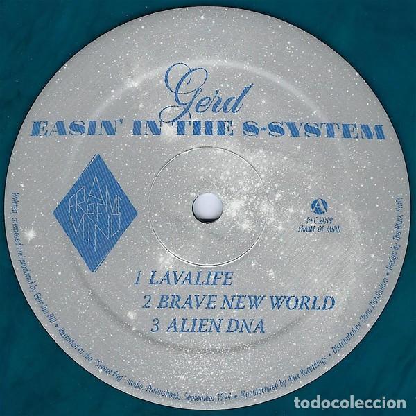 GERD - EASIN' IN THE S-SYSTEM - 12'' [FRAME OF MIND, 2019] (Música - Discos de Vinilo - EPs - Techno, Trance y House)