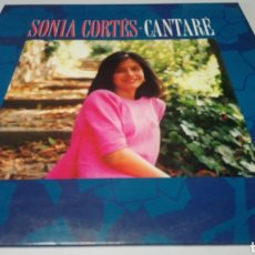 Discos de vinilo: SONIA CORTES - CANTARÉ. LP VINILO 1991. Lote 163977468
