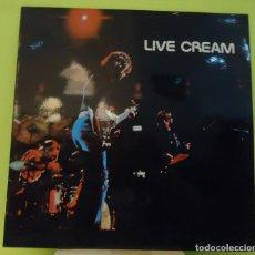 Discos de vinilo: LP CREAM – LIVE CREAM. Lote 163979654