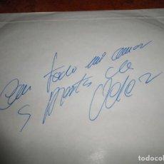Discos de vinilo: JOSE VELEZ REFLEJOS LP VINILO FIRMADO EN EL SOBRE INTERIOR DEL AÑO 1979 COLUMBIA 10 TEMAS AUTOGRAFO. Lote 163981678