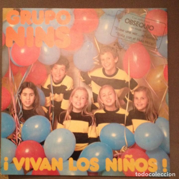 GRUPO NINS. ¡VIVAN LOS NIÑOS! - LP CARDISC 1979, (Música - Discos - LPs Vinilo - Música Infantil)