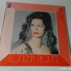 Discos de vinilo: LA OBRA DE CONCHA PIQUER, VOL 2 EMI ED ESPAÑOLA 1975. Lote 164052262