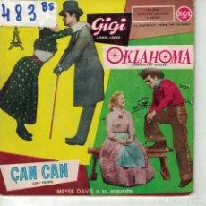 Discos de vinilo: BSO-OKLAHOMA + 3 (MEYER DAVIS Y SU ORQUESTA) (EP ESPAÑOL, RCA 1959). Lote 164059106