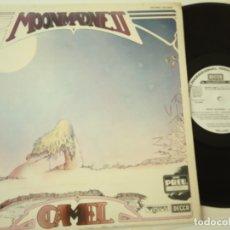 Discos de vinilo: CAMEL- MOONMADNESS - SPAIN PROMO LP 1976 - WHITE ALBEL- VINILO COMO NUEVO.. Lote 164064494
