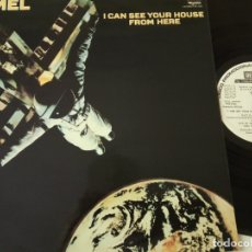 Discos de vinilo: CAMEL- I CAN SEE YOUR HOUSE FROM HERE -SPAIN PROMO LP 1979 +ENCARTE- WHITE ALBEL-VINILO COMO NUEVO. Lote 164065298